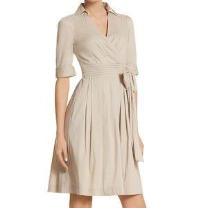White House Black Market FIT & FLARE SHIRT DRESS